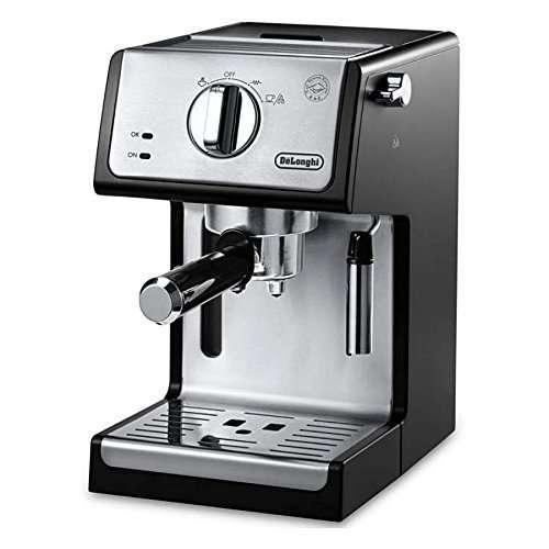 """Comparison the Capresso EC100 Pump Espresso with DeLonghi ECP3420 15"""" Bar Pump Espresso"""