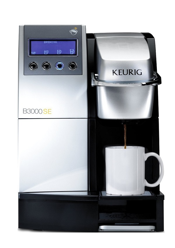 Best Commercial Espresso Machine - Keurig B 3000 SE Coffee Commercial Single Cup Office Brewing System