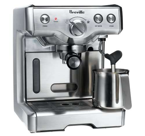 Comparison between the Breville Infuser BES840XL and the Breville 800ESXL