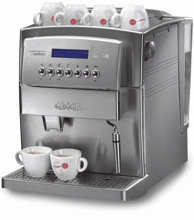 Best Super Automatic Espresso Machine - Gaggia 90500 Titanium Super Automatic Espresso Machine