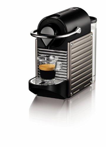 Best home espresso machine - Nespresso Pixie Espresso Maker-Electric Titan