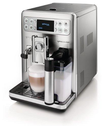 Best Super Automatic Espresso Machine - SAECO HD8857/47 Philips Exprellia EVO Fully Automatic Espresso Machine