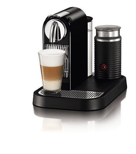 Best espresso machine under 300 - Nespresso D121-US4-BK-NE1 Espresso Maker with Aeroccino Milk Frother