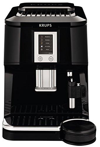 Best Super Automatic Espresso Machine - KRUPS EA8442 Falcon Fully Automatic Espresso and Cappuccino Machine