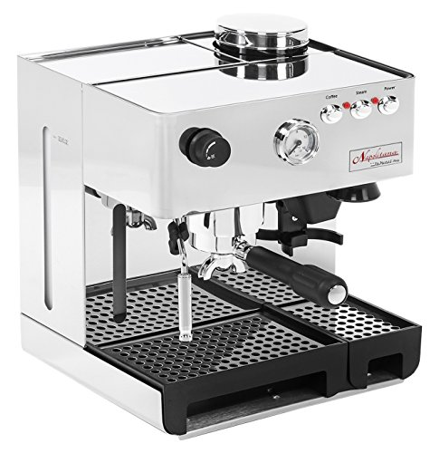 Best Commercial Espresso Machine - La Pavoni PA-1200 Napolitana Stainless Steel Automatic Espresso Machine