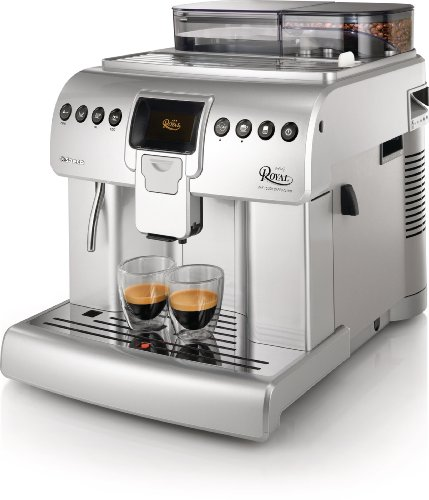 Best Commercial Espresso Machine - Philips Saeco HD8930-47 Royal One Touch Cappuccino Automatic Espresso Machine