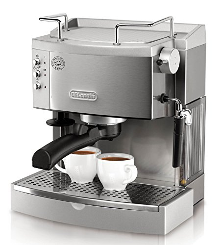 Best home espresso machine - DeLonghi EC702 15-Bar-Pump Espresso Maker