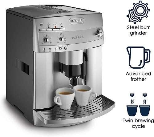 Can I make Cappuccino with Delonghi Magnifica ESAM300?
