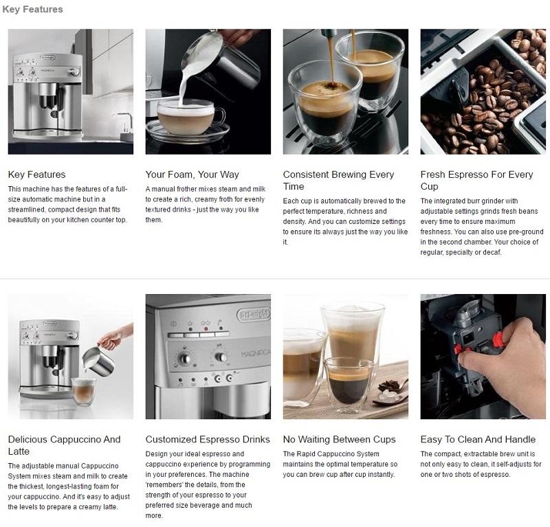 DeLonghi ESAM3300 Magnifica Super-Automatic Espresso maker