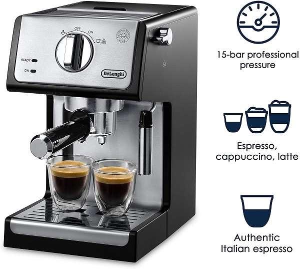 Key Features and Benefits of DeLonghi ECP3420 Espresso Machine