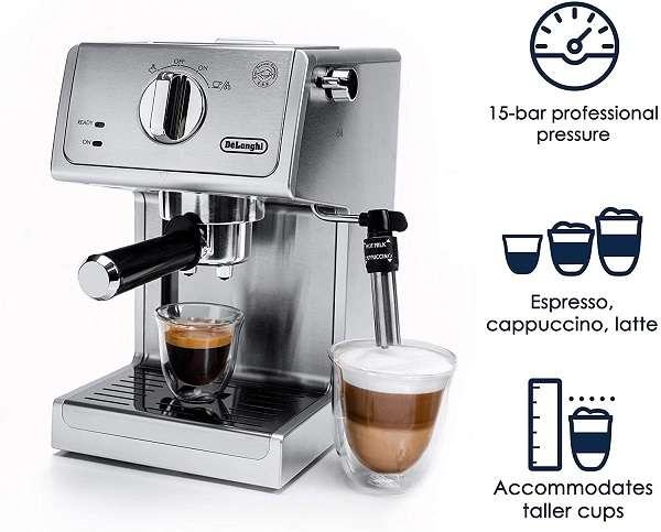 Key Features of DeLonghi ECP3630 Espresso Machine