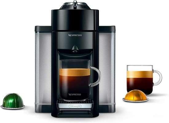 Nespresso Vertuo Coffee and Espresso Latte Machine