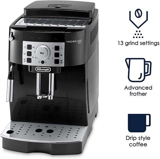 Key Features of the Delonghi ECAM22110B Super Automatic Espresso Machine