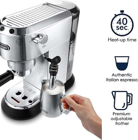 What are users saying about DeLonghi EC685M Dedica