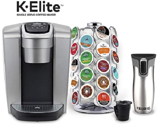 Keurig Single Cup Coffee Maker - Keurig K-Elite Coffee Maker