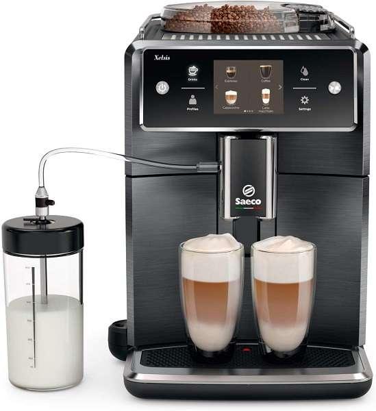 Compare DeLonghi Eletta and Saeco Xelsis SM7684 Espresso Machine