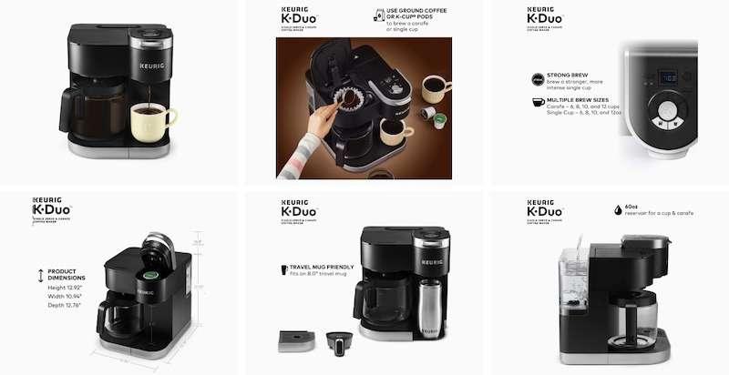 Keurig K-Duo Coffee Maker Review - Key Features