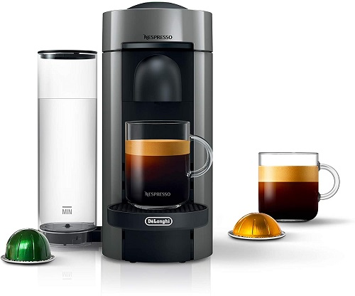 Nespresso VertuoPlus Coffee, Latte and Espresso Maker