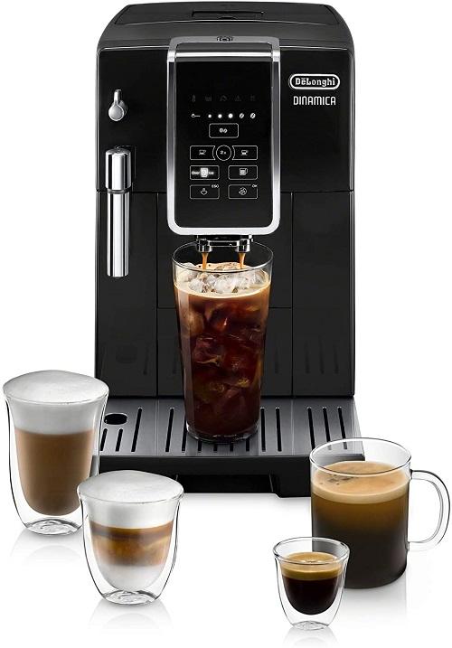 Compare Jura ENA Micro 1 and DeLonghi Dinamica Automatic Coffee Machine