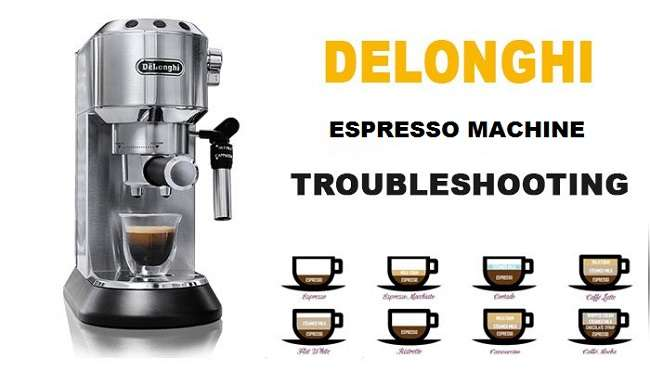 DeLonghi Espresso Machine Troubleshooting
