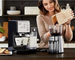 Mr. Coffee One-Touch Espresso Machine