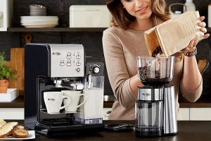 Mr. Coffee One-Touch Espresso Machine