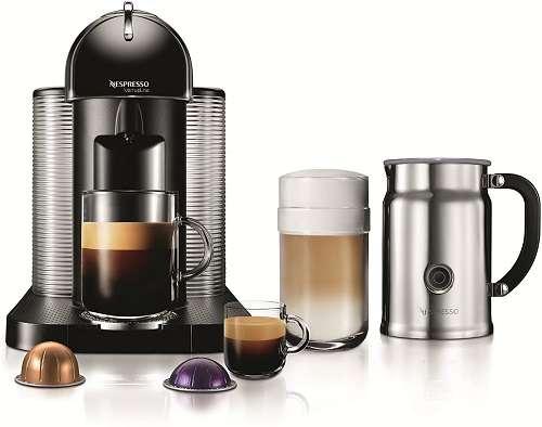Nespresso VertuoLine Coffee and Espresso Latte Maker