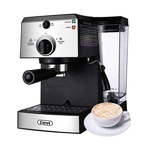 Gevi GECMD627BK-U Coffee Maker