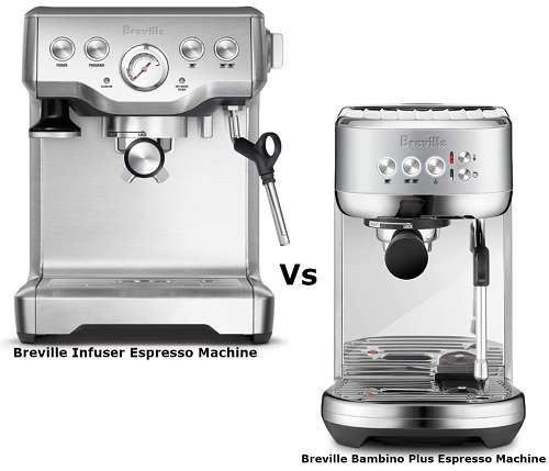Breville Infuser vs Bambino – Which  Should You Buy?
