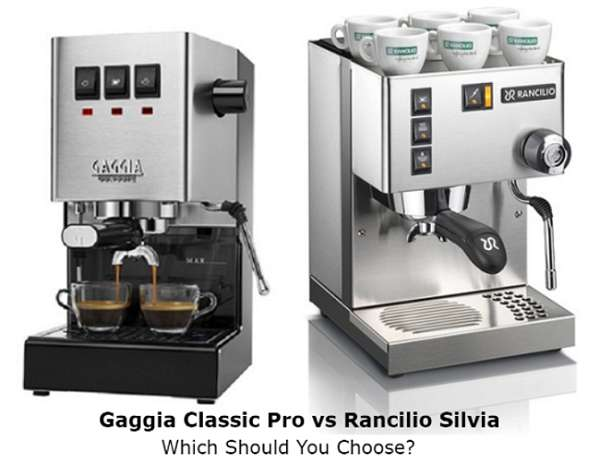 Gaggia Classic Pro vs Rancilio Silvia - Which Should You Choose?