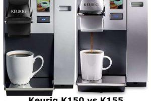 Keurig k150 vs k155 -What makes the Keurig K-155 better?