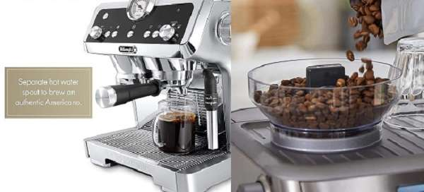 What Are Differences And Similarities of Delonghi La Specialista vs Breville Barista Express?