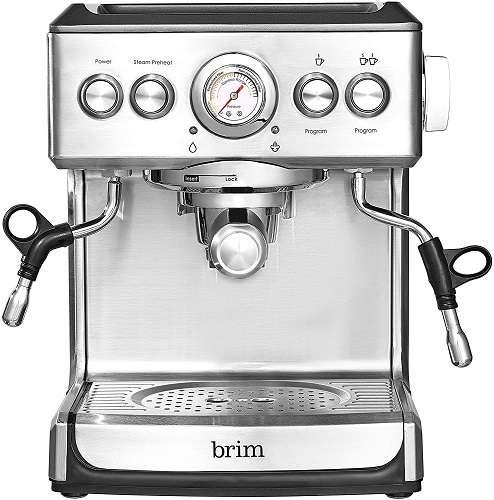 Brim 19 Bar Espresso Machine Review