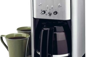 Key Feature of the Cuisinart DCC-1200 Coffee Maker