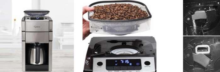 Key Features Capresso Coffee Team Pro Plus Coffee Maker