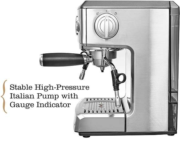 What is the Key Features Of Brim 19 Bar Espresso Machine