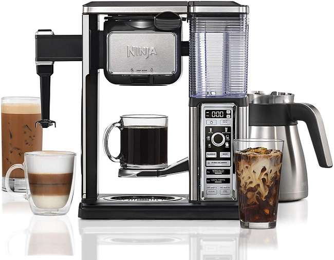 What is the Key Features of Ninja Coffee Bar CF097