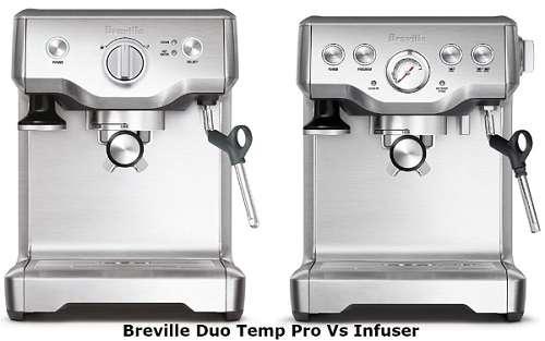 Breville Duo Temp Pro Vs Infuser
