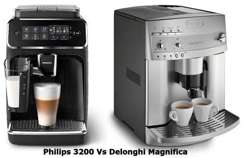 Philips 3200 Vs Delonghi Magnifica