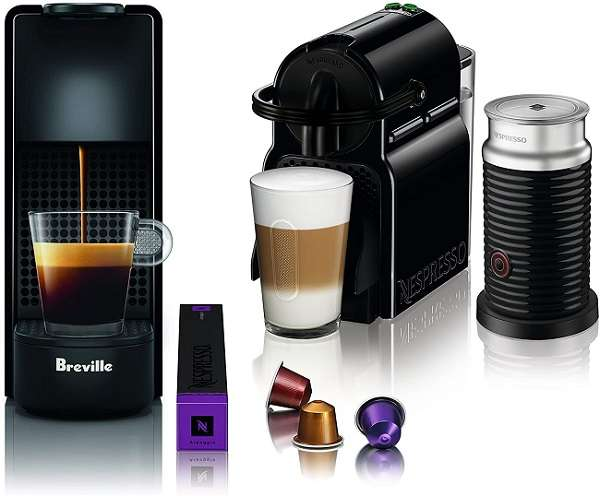 What Are The Differences and Similarities Between Nespresso Breville Vs Delonghi