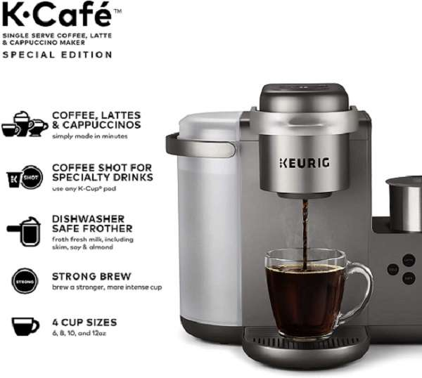 What Are The Key Features Of Keurig K Cafe Special Edition