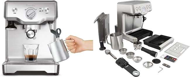 What Are The Similarities of Breville Duo Temp Pro and Infuser