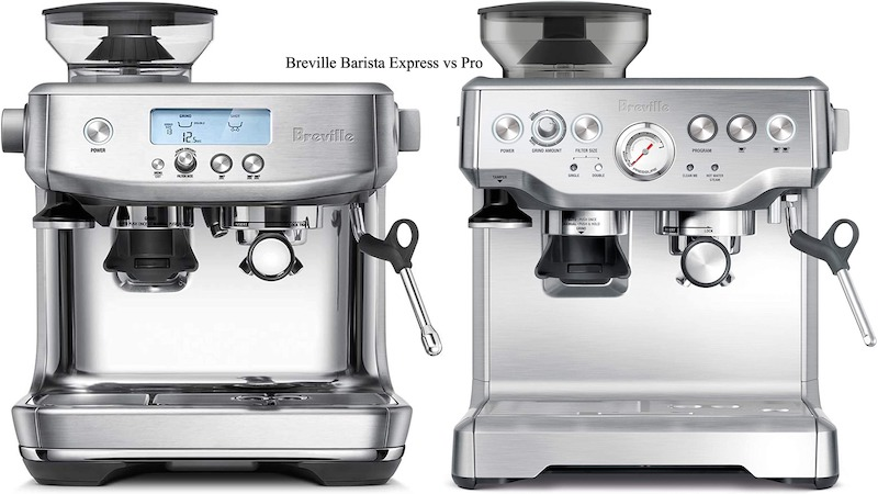 Breville Barista Express vs Pro: Which one value the best?