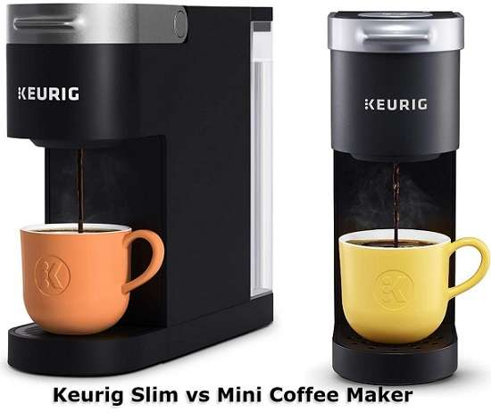 Keurig Slim vs Mini