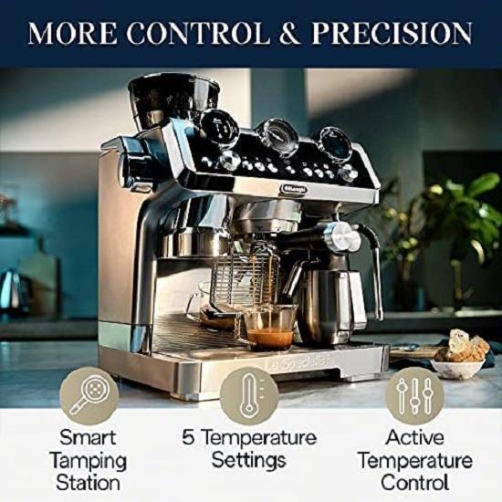 Key Feature Of Delonghi EC9665M Espresso Machine