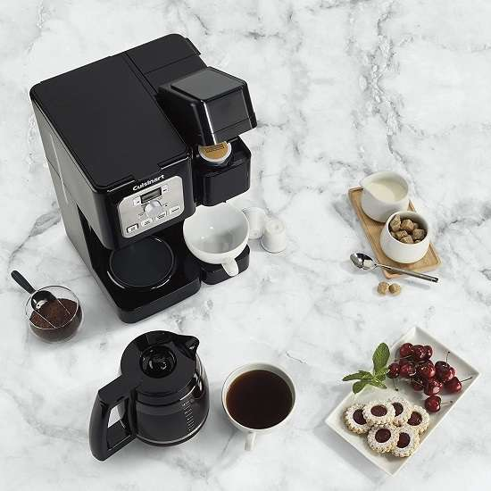 Key Features Of Cuisinart SS-12 Coffee Center Brew
