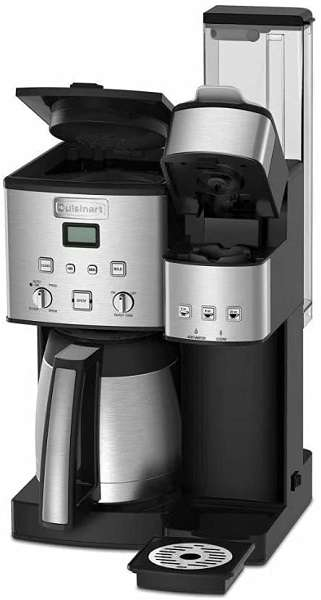 Key Features Of Cuisinart SS-20 10-Cup Coffeemaker Single-Serve