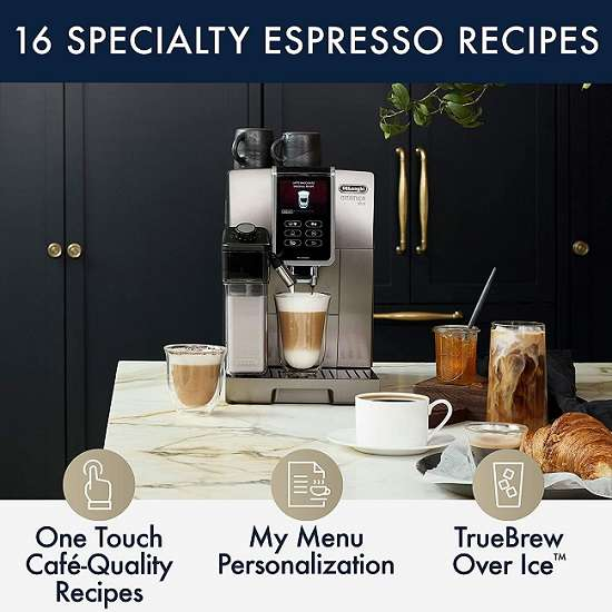 Key Features Of DeLonghi Dinamica Plus ECAM37095TI Automatic Espresso Machine