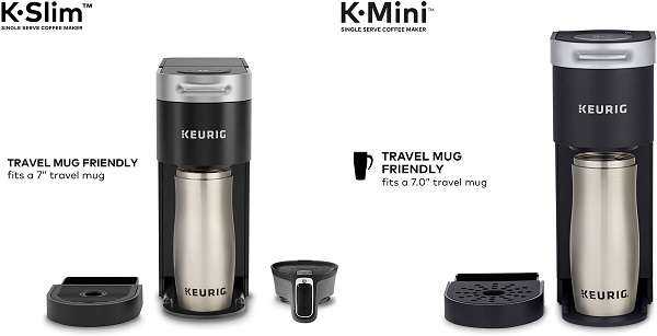 What Are The Similarities And Differences Between Keurig Slim Vs Mini