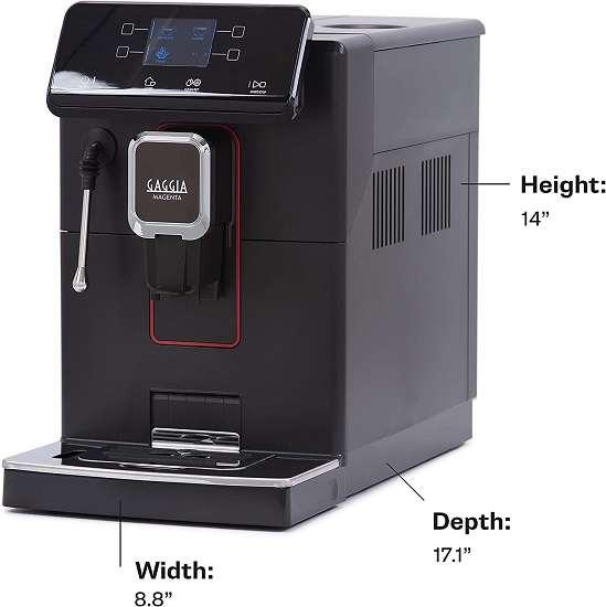 What are the Key Features of Gaggia Magenta Plus Espresso Machine